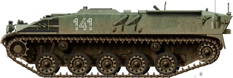 4F GrW1 81 mm (3.19 in) mortar-carrier version.