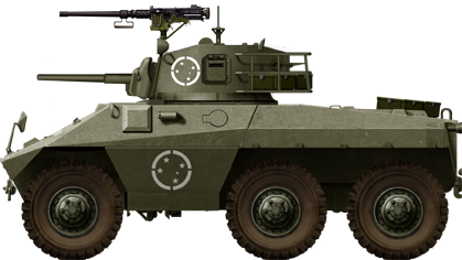 The first series Cascavel I with the provisional M3 Stuart turret (1974)