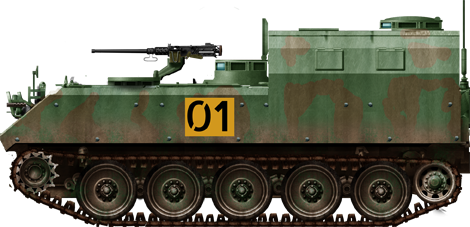 Type 73 command tank variant.