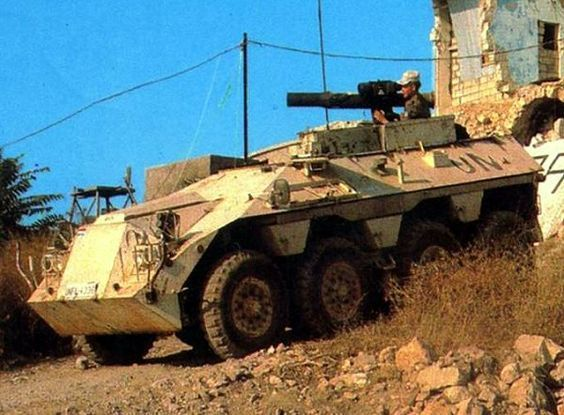 Vehicle of the Dutch-Contingent in Lebanon