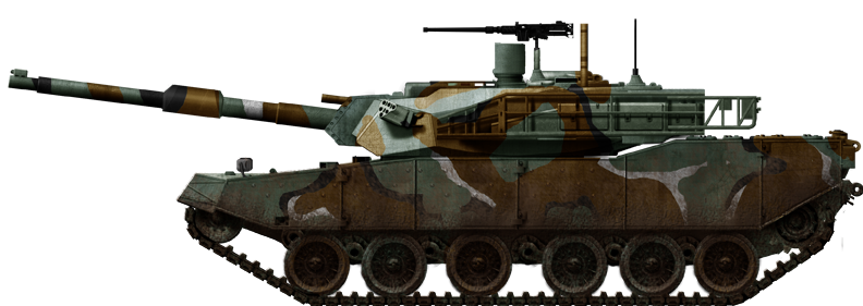 Up-armoured k1 88