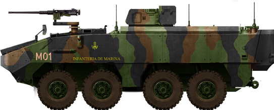 Piranha IIIC Command Spanish Marines
