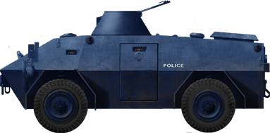 Mowag Roland, Police vehicle