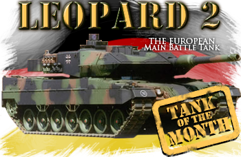June tank of the month: The Leopard 2