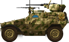 12.7 Reco M11 (export) in desert livery
