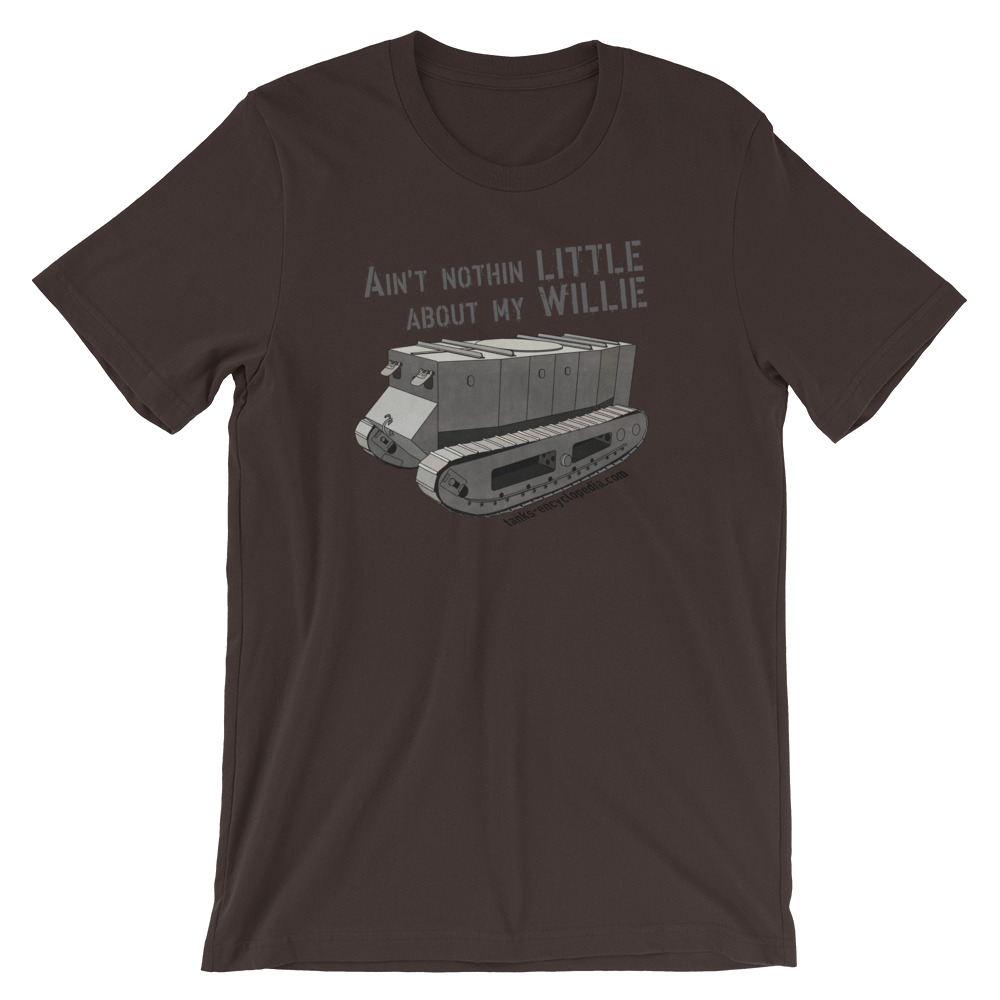 Little Willie – Tank Encyclopedia Support Shirt
