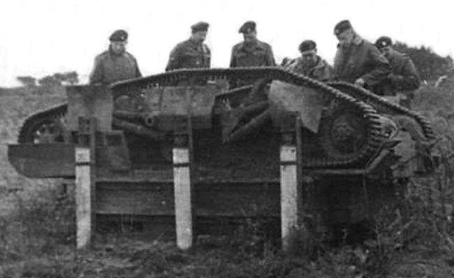 The rocket-powered Bren Gun Carrier trials did not end well