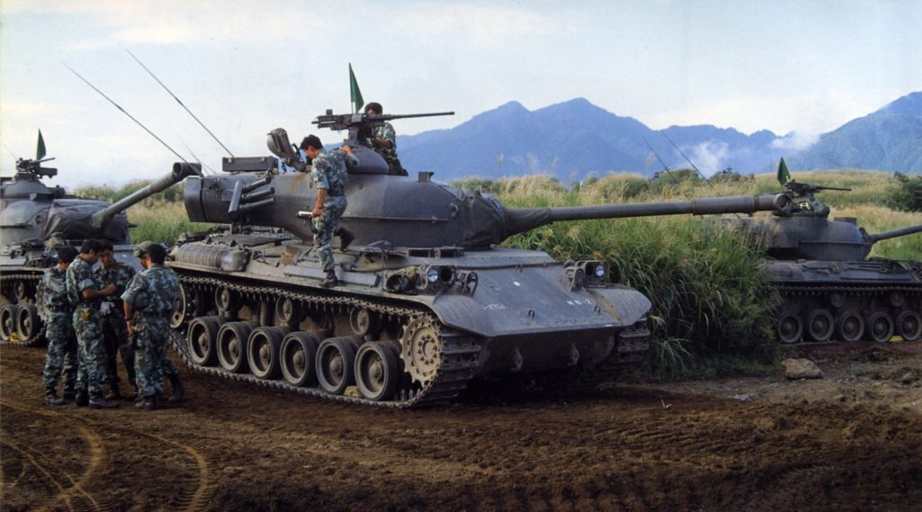 Type 61 Main Battle Tank (1961)