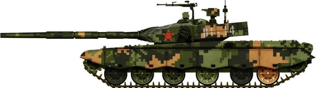 Tanque Tipo 99KM do Exército Chinês