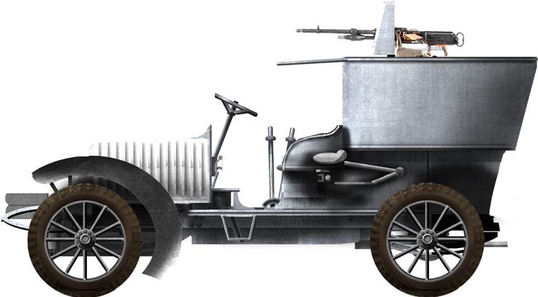 Hotchkiss 1920 Instruction Modelle 1914-Unites de Mitrailleuses French