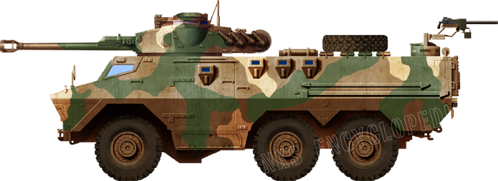 Ratel Armoured Fighting Vehicle (1974)