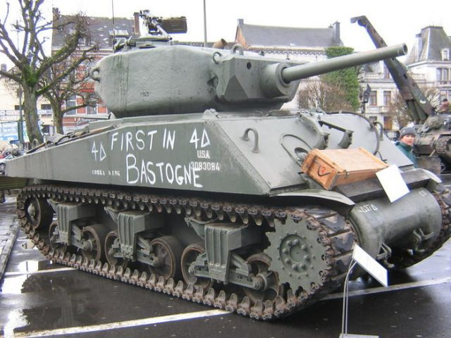 The only Jumbo in Europe, from the Belgian Tank Museum.