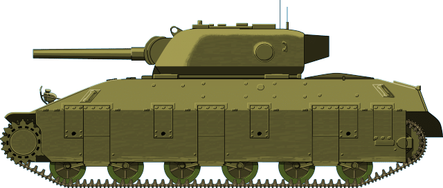 The T14 heavy tank - Illustrated by Jaroslaw Janas