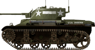 American M22 named Bonnie from the 28th Airborne Tank Battalion, one of the only American units to be equipped with the tank.
