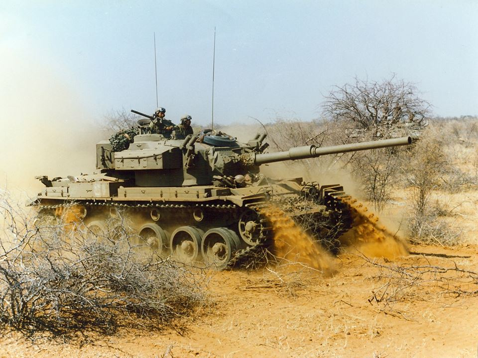 Olifant Mk1, F-Squadron racing back to Calueque in Angola 1988