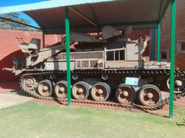 Olifant Mk1 ARV, South African Museum of Military History