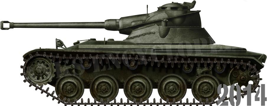 AMX-13 Avec Tourelle FL-11