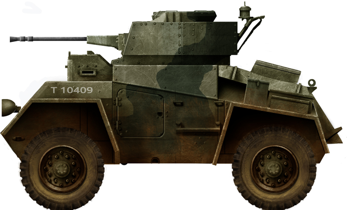 Guy Light Tank (Wheeled)