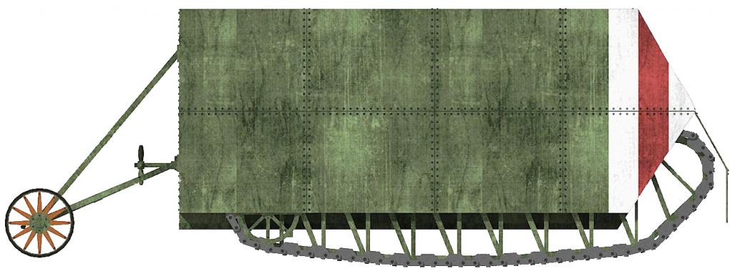 Macfie Landship 1914-15