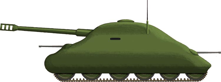"Soviet ""Turtle"" Tank (Fake Tanks)"