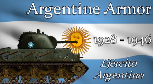 WW2 Argentine Armor