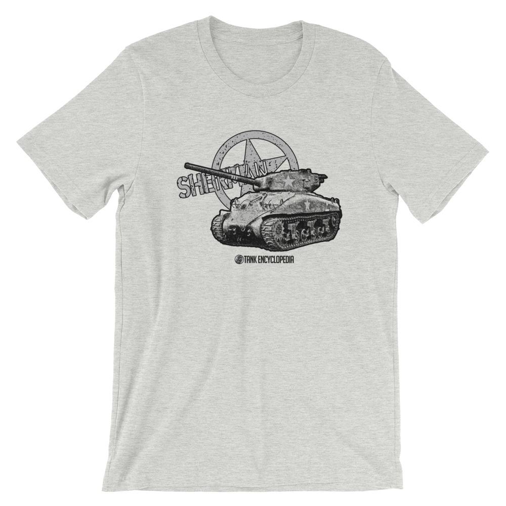 American M4 Sherman Tank – Tank Encyclopedia Support Shirt