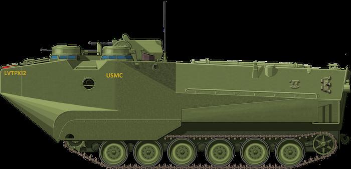 Assault Amphibian Personnel Carrier LVTPX-12