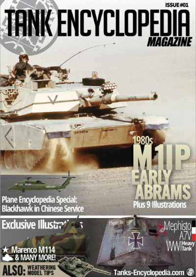 Tank Encyclopedia Magazine Issue #1 Republished!