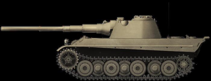 Panther II mit 8.8 cm KwK 43 L/71 (Fake Tanks)