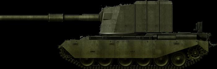 "FV4005 – Heavy Anti-Tank, SP, No. 1 ""Centaur"""