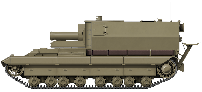 Conqueror Gun Carriage (GC) (Fake Tanks)