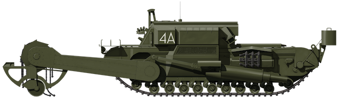 FV3902 Churchill Flail 'Toad'