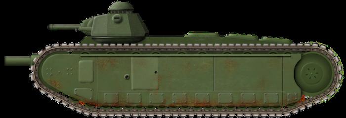 AMX 37 'Char de Rupture'