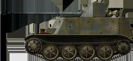 7.62 cm PaK 36(r) auf Fgst. PzKpfw.II(F) (Sfl.) (Sd.Kfz. 132) 'Marder II'