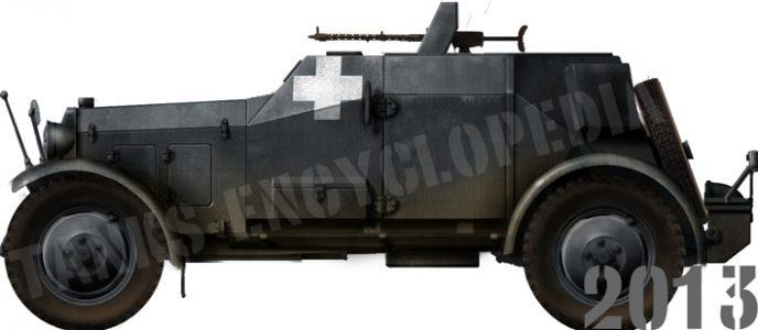 Maschinengewehrkraftwagen (Kfz. 13) and Funkkraftwagen (Kfz. 14)