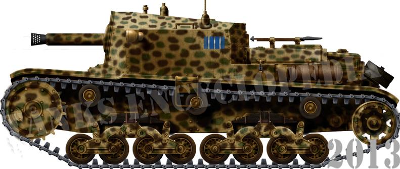 Semovente M40, M41 and M42 da 75/18