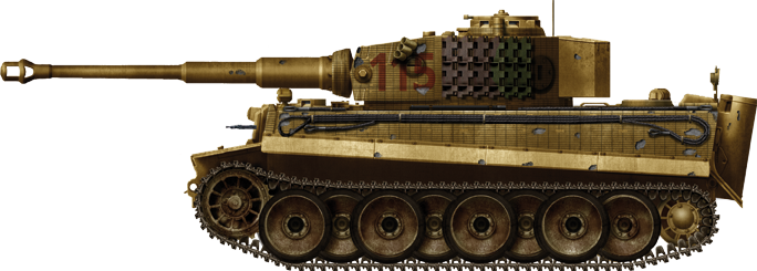 Tiger in Hungarian service