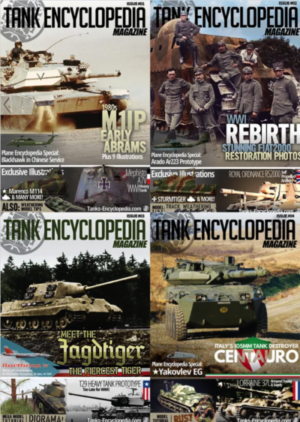 Get all 4 Tank Encyclopedia Magazine issues for 25% off!