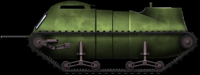 Baldine One-Man Tank