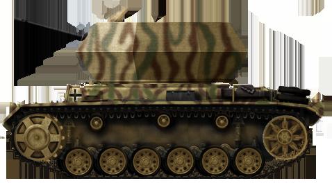 3.7 cm Flak 43 in Keksdose-Turm auf Pz.Kpfw.III Fahrgestell