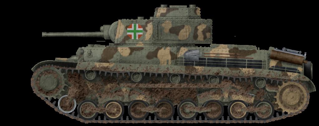40M Turán during pre-war testing