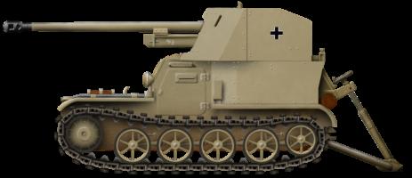 Panzerselbstfahrlafette 1a 5 cm PaK 38 auf Gepanzerter Munitionsschlepper
