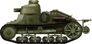 Renault FT and Renault-Kégresse in service with the Kingdom of Yugoslavia