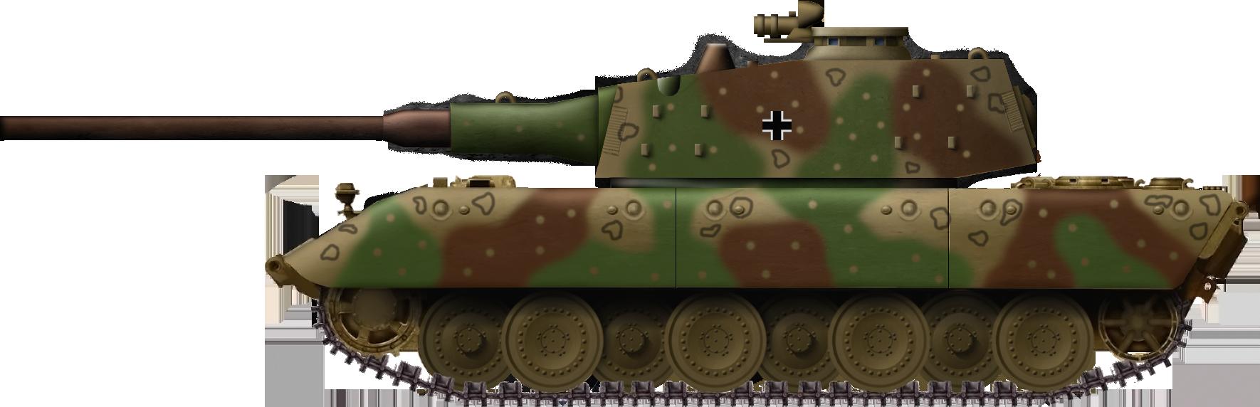 E-100 Ausf. B (Henschelturm or Rinaldi's turret)