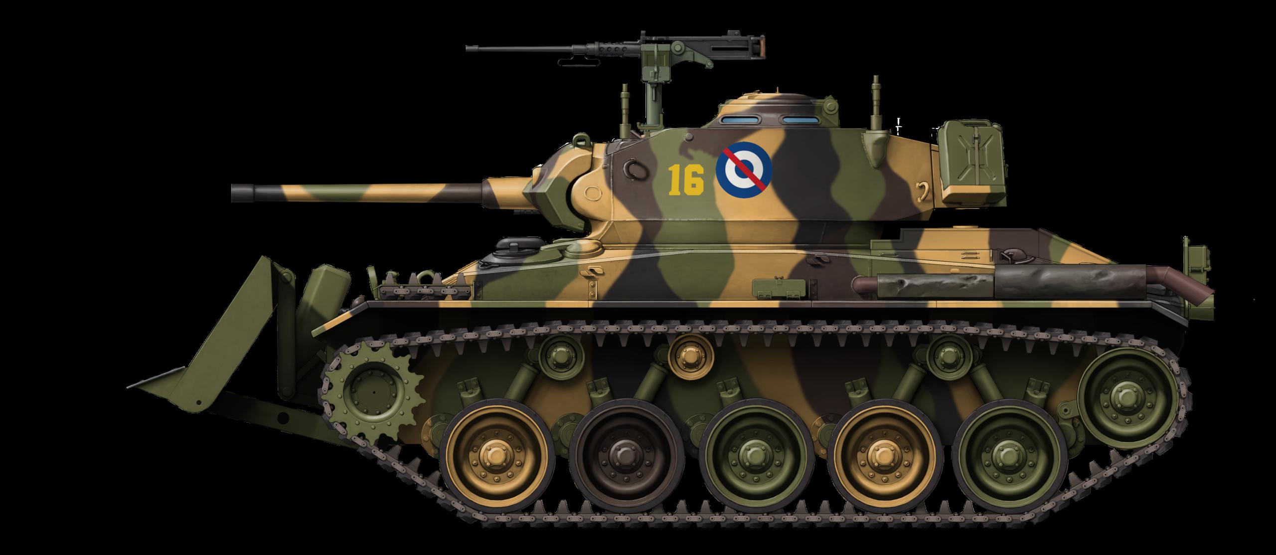 M24 Chaffee in Uruguayan service