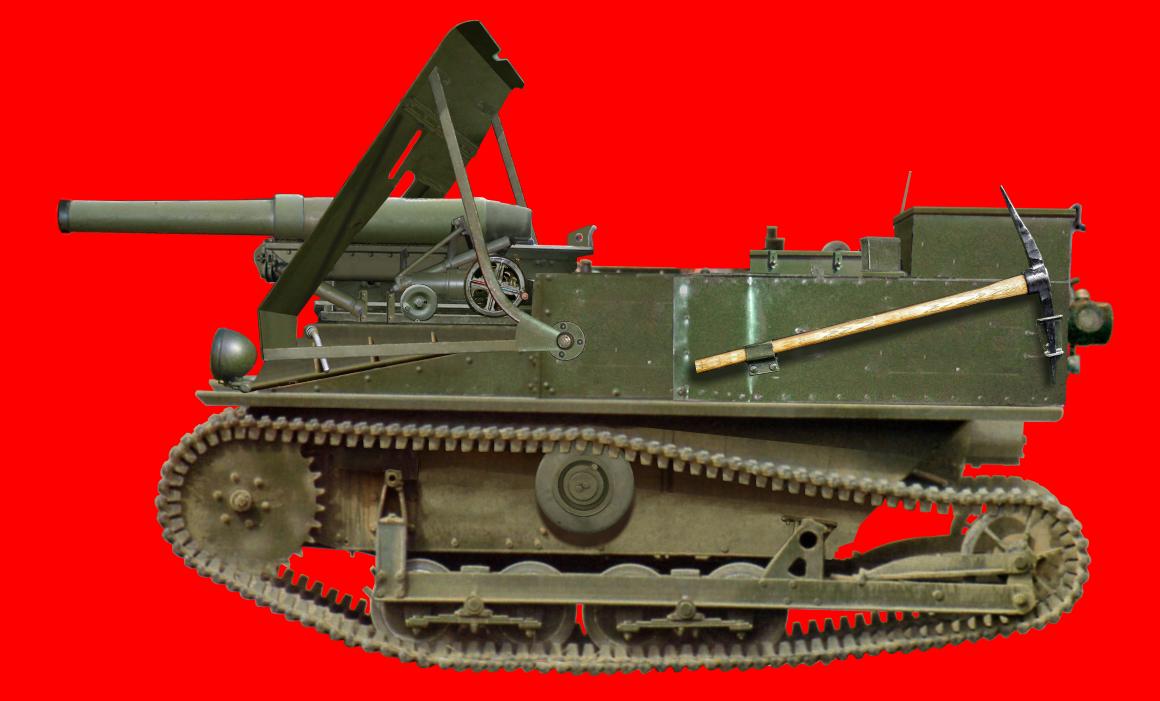 Carden-Loyd Mk.VI in Belgian Service (Mk.VI with 47 mm)