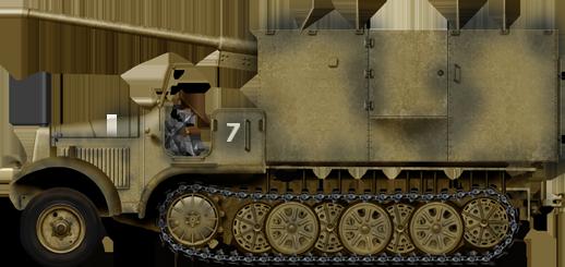 7.62 cm F.K. 36(r) auf gp. Selbstfahrlafette Sd.Kfz. 6/3