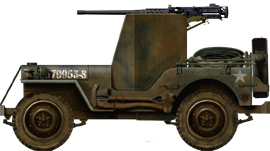 1/4 ton 4x4 truck armored