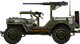 Willys with M1917A1