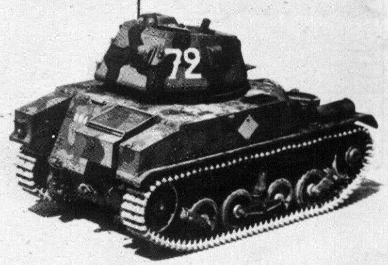 AMC 34, APX turret, top rear view